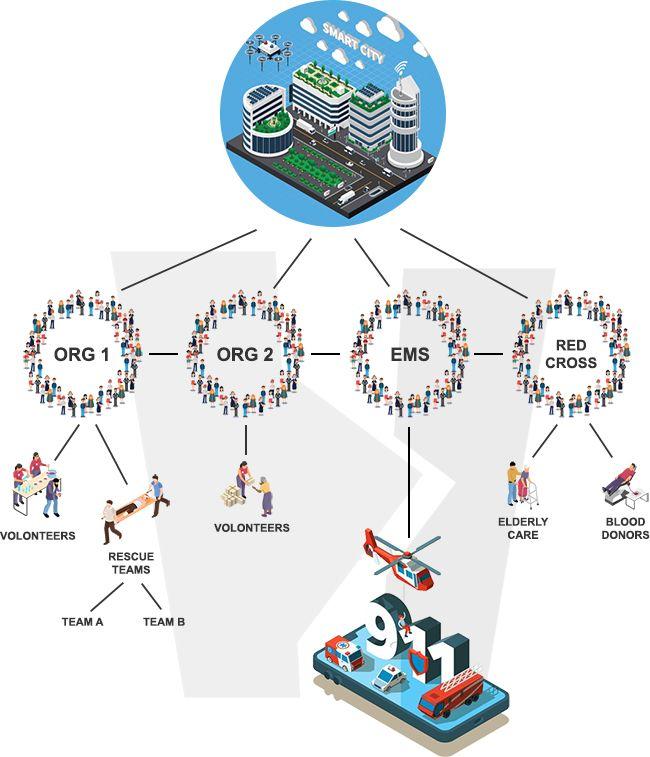 Helpdrome - organizational structure